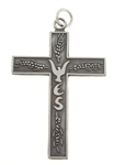 YES Cross (Youth Encounter the Savior), Pewter, Large Size