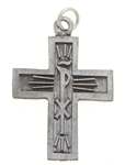 The Walk (Chi Rho) Cross, Pewter