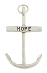 Pewter Anchor Cross