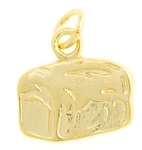I am the Bread of Life Pendant (Gold Tone, Small)