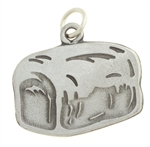 I am the Bread of Life Pendant (Pewter, Large)