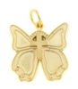 New Life Butterfly, Gold Tone