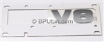 "LR3 LR4 Body Decal Tailgate ""V8"" DAL500080LQV"