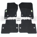 LR3 Carpet Floor Mats, BLACK EAH500080PVJ