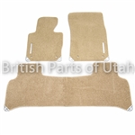 Range Rover Genuine Carpet Mats BEIGE