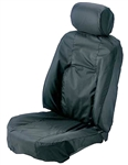 Range Rover Waterproof Rear Seat Covers, CHARCOAL
