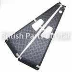 Defender Chequer Plate Black Wing Protectors LRNA4010B