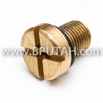 Discovery Upper Radiator Hose Bleed Screw BRASS