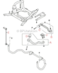 Range Rover Upper Control Arm Right RBJ000120