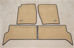 Discovery Carpet Floor Mats Lighstone Beige