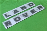 "LR3 Body Decal Hood ""LAND ROVER"""