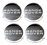 Range Rover Chrome Black Wheel Cap LR027409