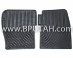 Discovery Rubber Floor Mats Front Pair STC50049AA