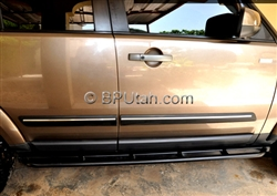 LR3 LR4 Bodyside Molding, with Chrome Insert