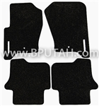 LR3 LR4 Carpet Floor Mats, Black VPLAS0192PVJ