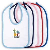 DEER MOUNTAIN DAY CAMP OFFICIAL INFANT VELCRO BIB
