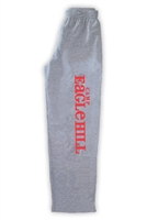EAGLE HILL OPEN BOTTOM SWEATPANTS WITH POCKETS
