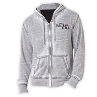 EAGLE HILL UNISEX BURNOUT HOODY