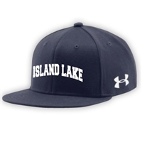 ISLAND LAKE UNDER ARMOUR FLAT BRIM STRETCH FITTED CAP