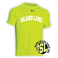 ISLAND LAKE HYPER COLOR UNDER ARMOUR TEE