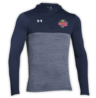 ISLAND LAKE UNDER ARMOUR TECH 1/4 ZIP HOODY