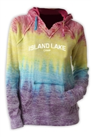 ISLAND LAKE COURTNEY BURNOUT V-NOTCH SWEATSHIRT