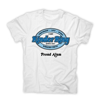 KINDER RING PROUD ALUM OFFICIAL CAMP TEE