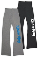 KINDER RING AMERICAN APPAREL COTTON SPANDEX JERSEY YOGA PANT