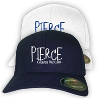 PIERCE COUNTRY DAY CAMP FLEX FIT CAP
