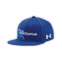 WAZIYATAH UNDER ARMOUR FLAT BRIM STRETCH FITTED CAP