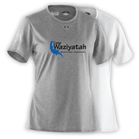 WAZIYATAH LADIES UNDER ARMOUR TEE