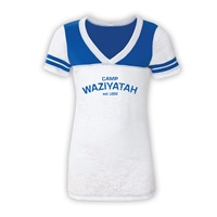 WAZIYATAH SPORTY BURNOUT V-NECK