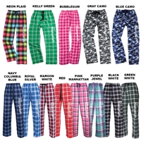 WAZIYATAH FLANNEL PANTS