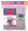 D40LAS- Hanes Women's Cotton Briefs