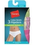 UHET41 Hanes Women's ComfortSoft Cotton Stretch Hipster
