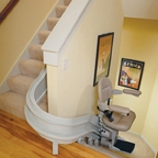 Bruno Elite Curved Stair Lift