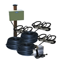 Kasco Marine RA3PM - Robust-Aire Aquatic Aeration System w/ Post Mount Cabinet Mount