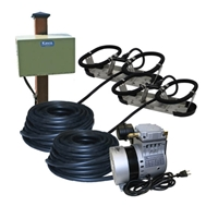 Kasco Marine RAH2PM - Robust-Aire Aquatic Aeration System w/ Post Mount Cabinet Mount