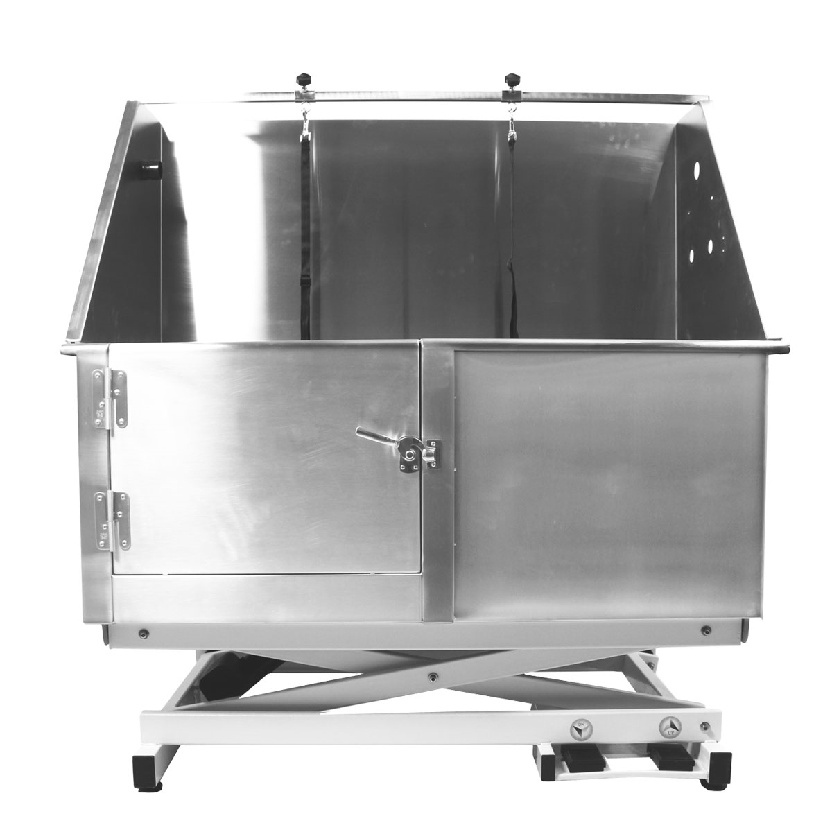 Flying Pig 50 Quot X24 Quot Electric Lift Stainless Steel Pet