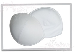 Push up pads for bras and bathing suits