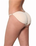 Wholesale Padded string bikini panty with scrunch back