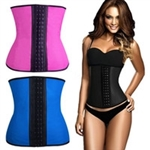 Wholesale 3 hooks Latex Waist Trainer Cincher