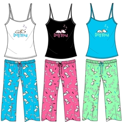 Wholesale Dog Tired PJ Set