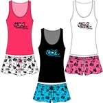 Wholesale Rayon Jersey Tank & Short PJ Set