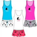 Wholesale Frisky Kitty Tank & Short PJ Set