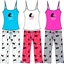 Wholesale Frisky Kitty Cami and Capri PJ Set