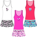 Wholesale Foxy Tank & Short PJ Set