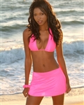 Swimwear Accessory - Cover Up Mini Skirt & Scrunchie