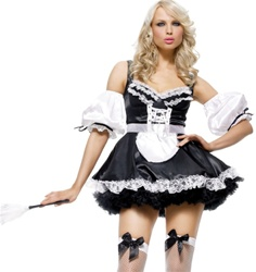 Wholesale Sexy French Maid Costume