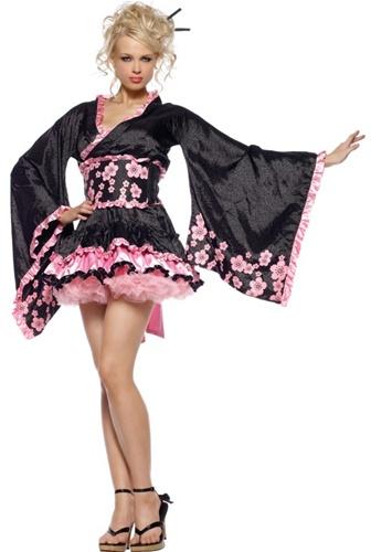 Plus Size Kimono Costume - HalloweenCostumescom